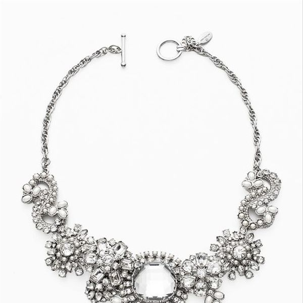 Ann Taylor  Ann Taylor Paisley Chunky Statement Necklace ($115)