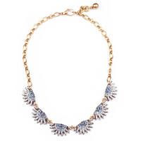 Lulu Frost  Lulu Frost Sunburst Collar Necklace