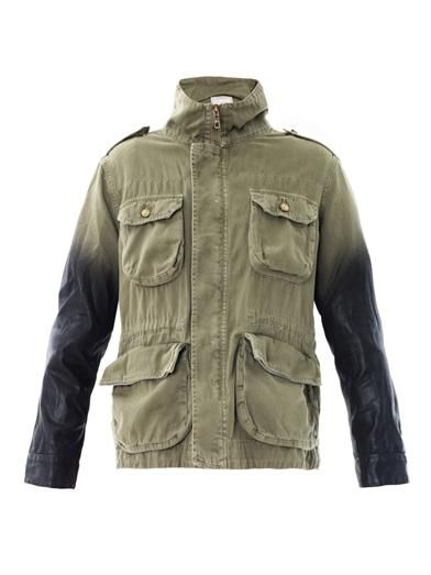 Current/Elliott  The Lone Soldier Military Jacket