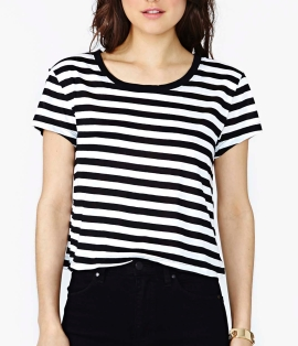 Nasty Gal Parallel Highway Tee