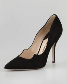 Paul Andrew  Paul Andrew Zenadia Suede Pumps