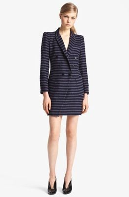 Band of Outsiders Band of Outsiders Long Striped Coat