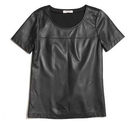 Madewell Patent Leather Tee