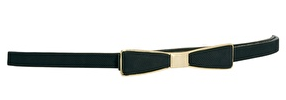 ASOS  Bow Belt with Metal Plate Waist Detail
