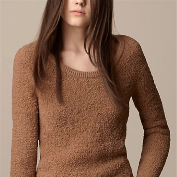 Burberry Brit  Wool Blend Crew Neck Sweater