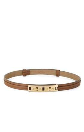 BCBG  Skinny Twist Lock Waist Belt