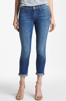 Mother Skinny  Not So Skinny Crop Jeans