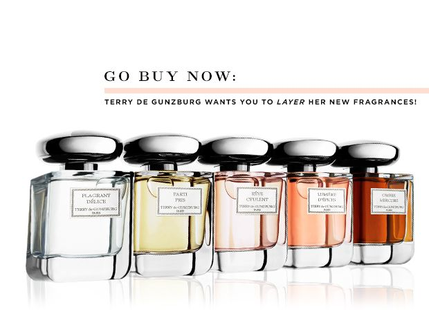 Go Buy Now: Terry de Gunzburg's New Scent Collection