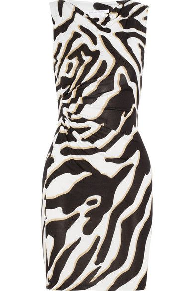 Diane Von Furstenberg  Glasmary Silk-Jersey Dress