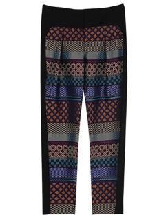 ICB  ICB Pattern Block Novelty Pants