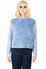 Chloe Sevigny for Opening Ceremony  Chloe Sevigny for Opening Ceremony Hairy Pullover