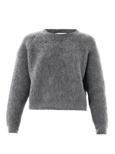 Stella McCartney T Stella McCartney Textured Wool-Mohair Sweater (