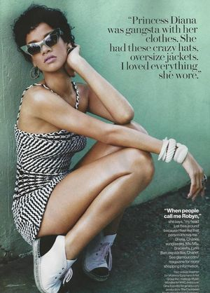 Rihanna In Playful Black And White Looks For Glamour Magazine