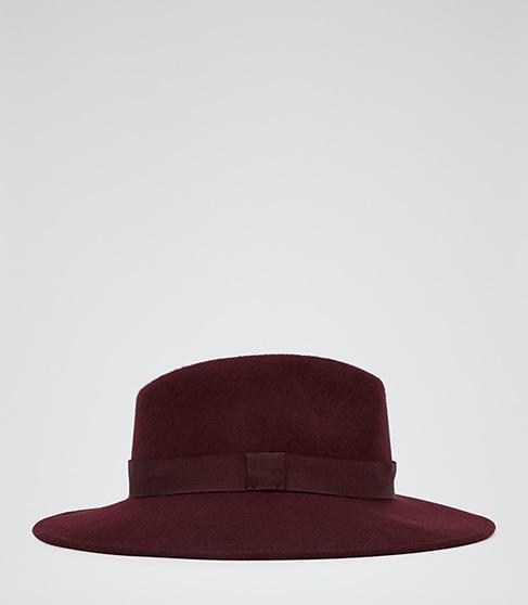 Reiss  Ava Felt Trilby Hat