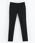 Zara  Zara Narrow Leg Studio Trousers