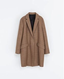 Zara  Wool Blazer Coat