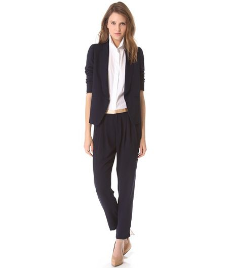 Band of Outsiders Cabrini Suiting Blazer & Suiting Pants