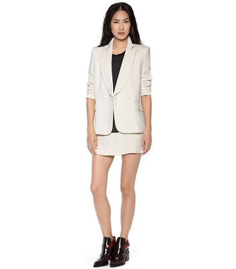 Theyskens' Theory Jousse Blazer & Suitry Skirt