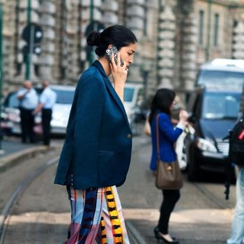 Print Flare Trousers With A Classic Twist, Get Street Style Inspired