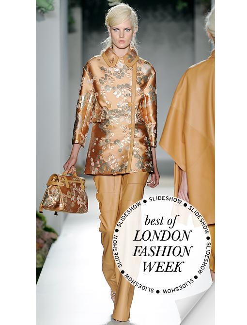 London Fashion Week S/S 13