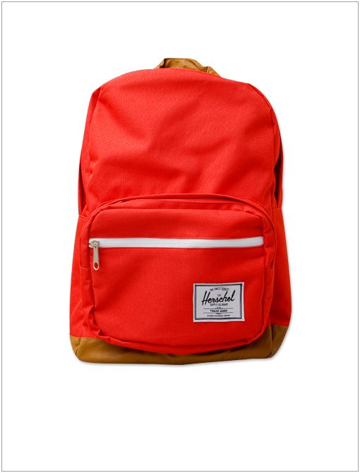 Pop Quiz Backpack ($77) in Red