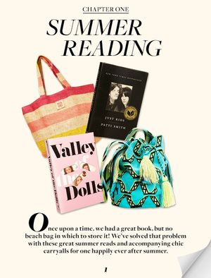 Beach Bags & Summer Reads