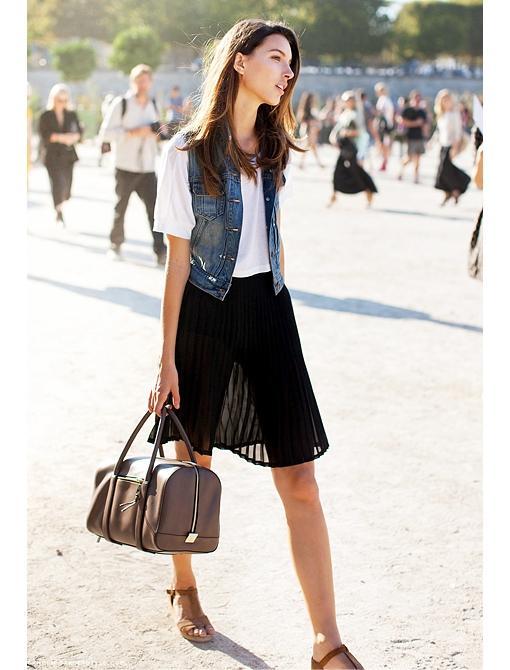 Accordion Pleat Skirts