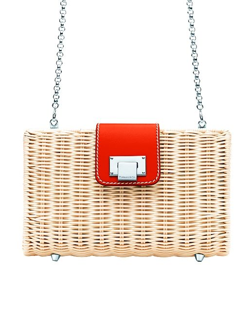 Blaine Clutch ($495) in Tangerine
