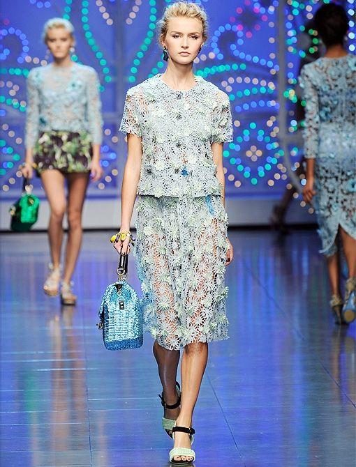 Spring/Summer 2012Image courtesy of Dolce & Gabbana