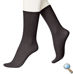 Hue  Cotton Tissue Socks