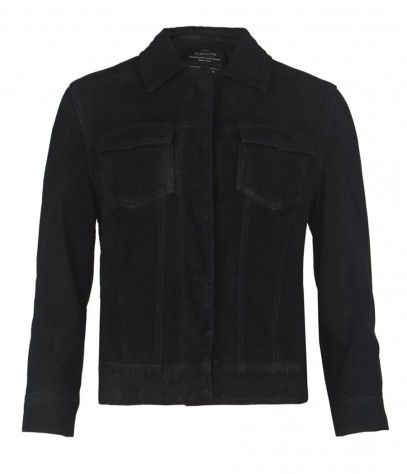 AllSaints  Cammie Leather Jacket