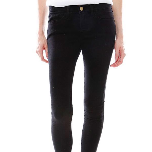 Frame Denim  Le Luxe Noir Jeans