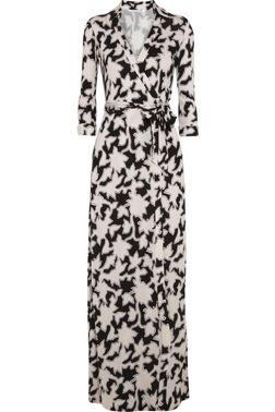 Diane von Furstenberg  Abigail Printed Silk-Jersey Maxi Dress