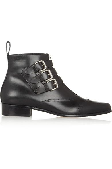 Tabitha Simmons  Early Leather Ankle Boots