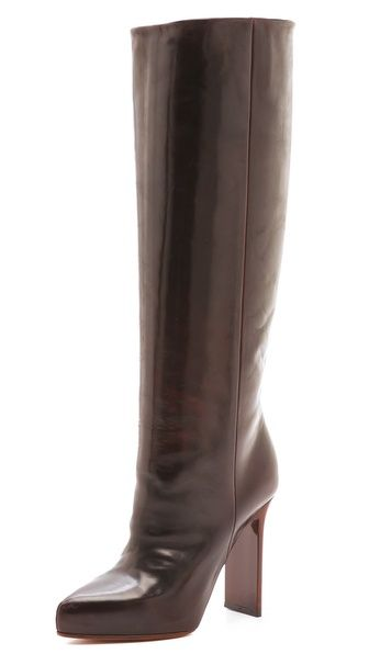 Miason Martin Margiela  Wood Grain Heel Leather Boots