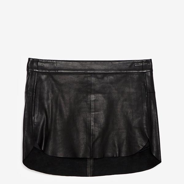 Mason By Michelle Mason Mason By Michelle Mason Mini Leather Skirt