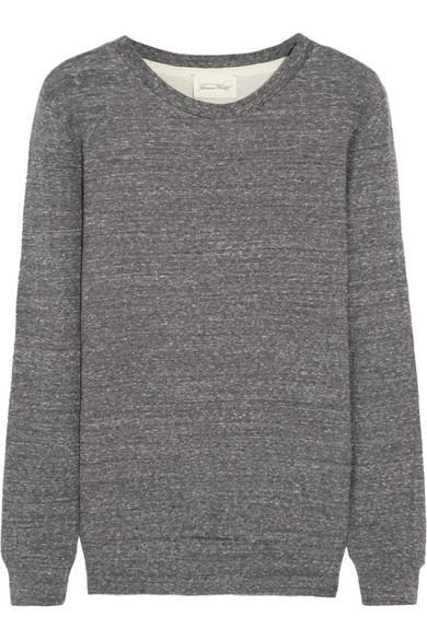 American Vintage  American Vintage Prarie State Cotton-Jersey Sweatshirt (