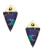Karen London Karen London Brass Desert Moon Earrings