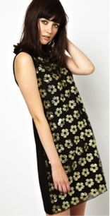 Boutique by Jaeger  Shift Dress with Floral Sequin