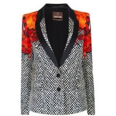 Roberto Cavalli  Twilled Print Jacket