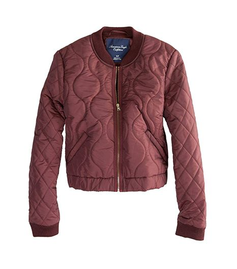 AE Quilted Baseball Jacket