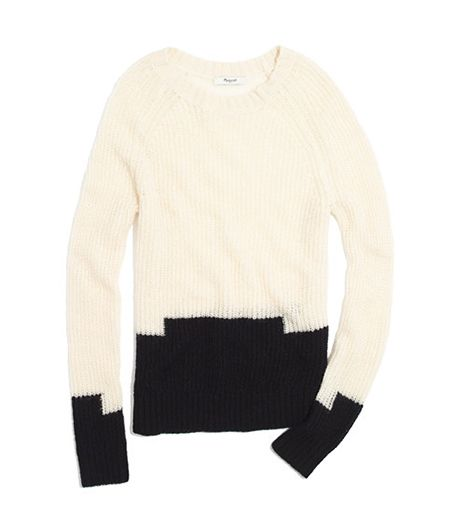 Madewell Colorstep Sweater