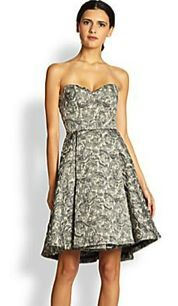 Alice + Olivia Alice + Olivia Dillon Strapless Bustier Dress