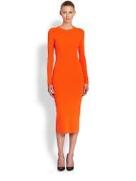 Michael Kors  Merino Wool Crewneck Dress