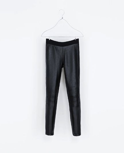 Zara  Motorbike Leggings