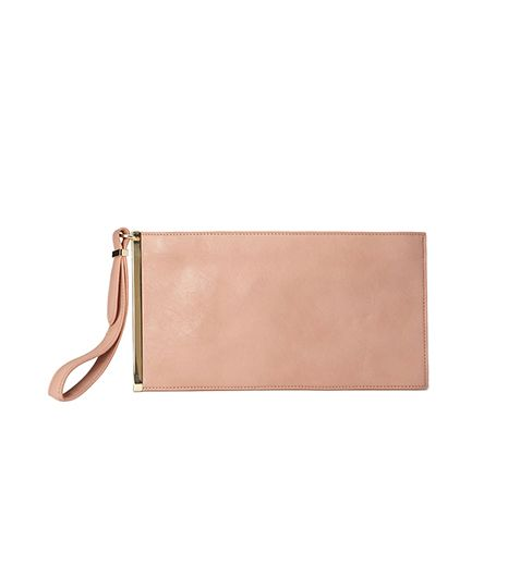 Forever 21 Minimalist Faux Leather Clutch