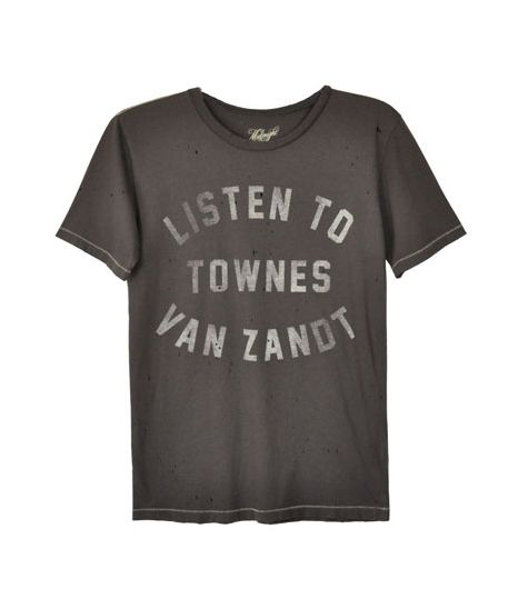 Midnight Rider Listen To Townes Tee