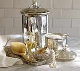 Pottery Barn  Evleen Mercury Glass Canister