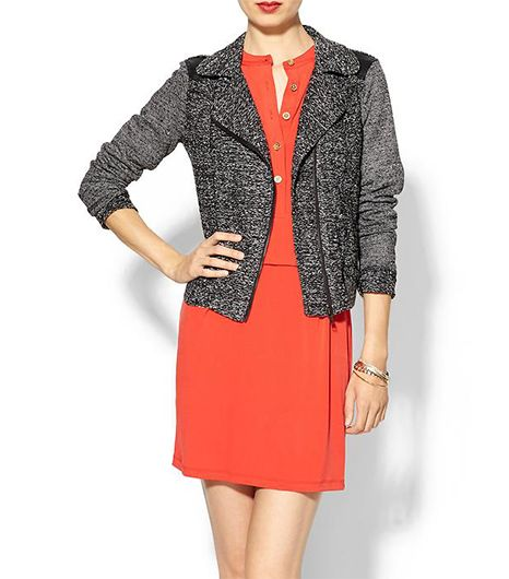 Isabel Lu Knit Moto Jacket