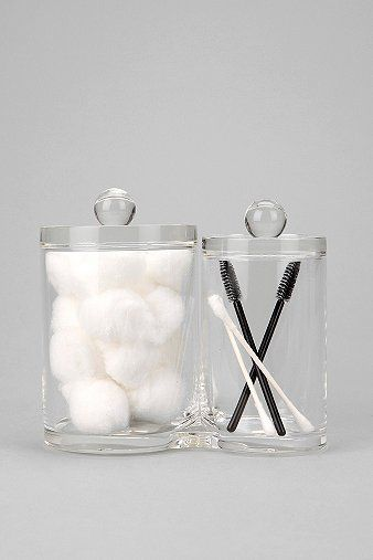 Urban Outfitters  Clear Canisters